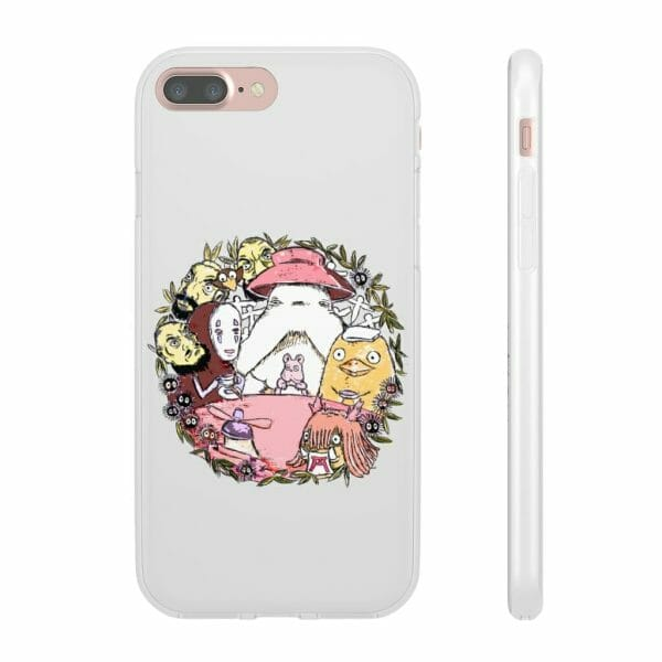Spirited Away No Face Tea Time Iphone Cases