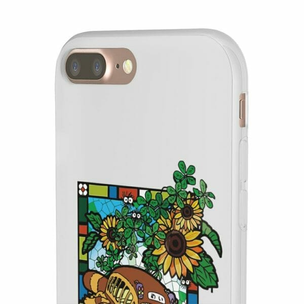 My Neighbor Totoro – Cat Bus Stained Glass Art iPhone Cases