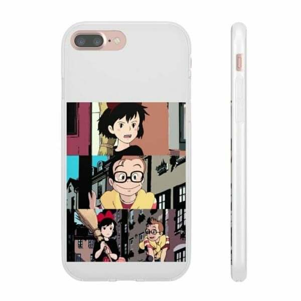 Kiki's Delivery Service Tower Collage iPhone Cases