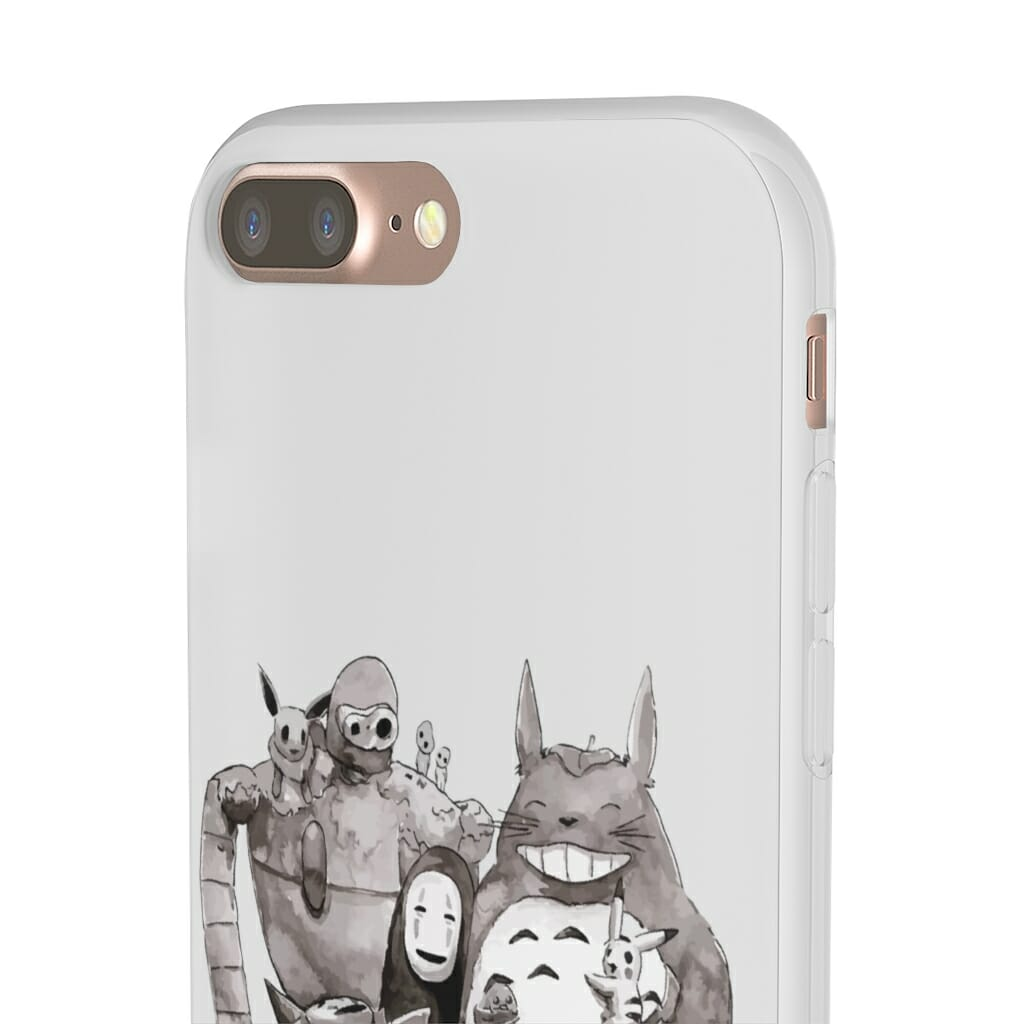 Ghibli ft. Pokemon Characters iPhone Cases