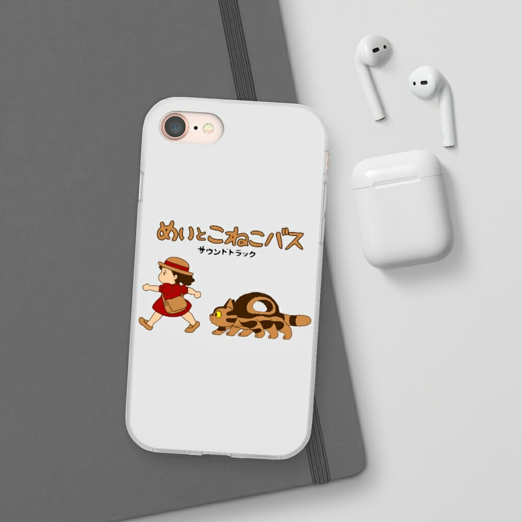 My Neighbor Totoro Cat Bus and Mei iPhone Cases