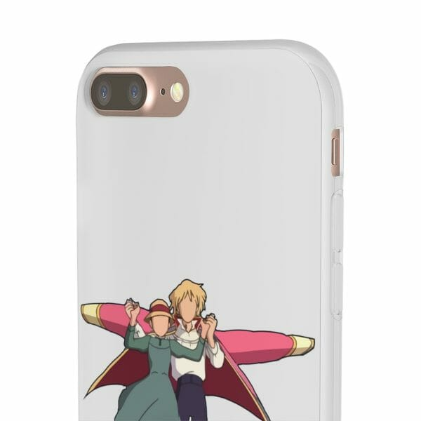 Howl's Moving Castle – Howl and Sophie Running Classic iPhone Cases