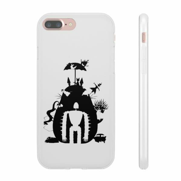 Studio Ghibli Black & White Art Compilation iPhone Cases