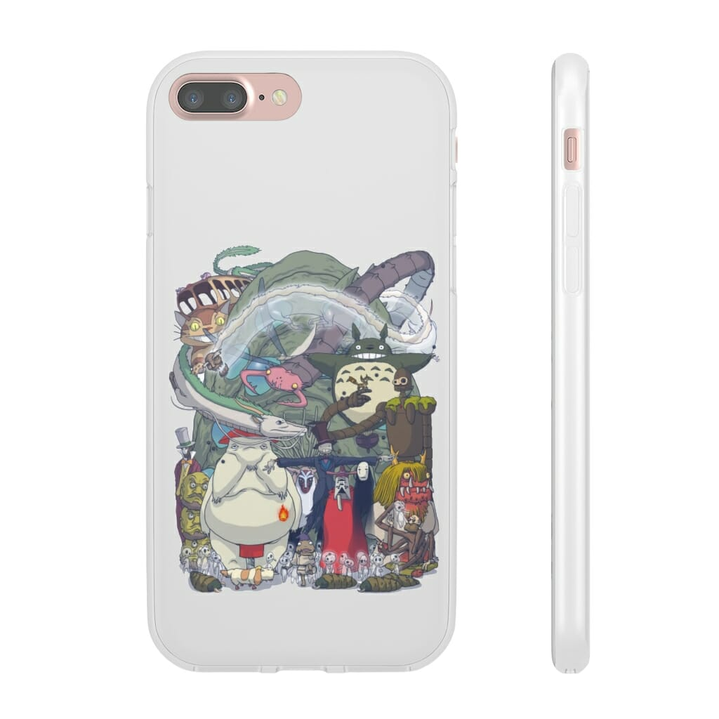 Ghibli Highlights Movies Characters Collection iPhone Cases