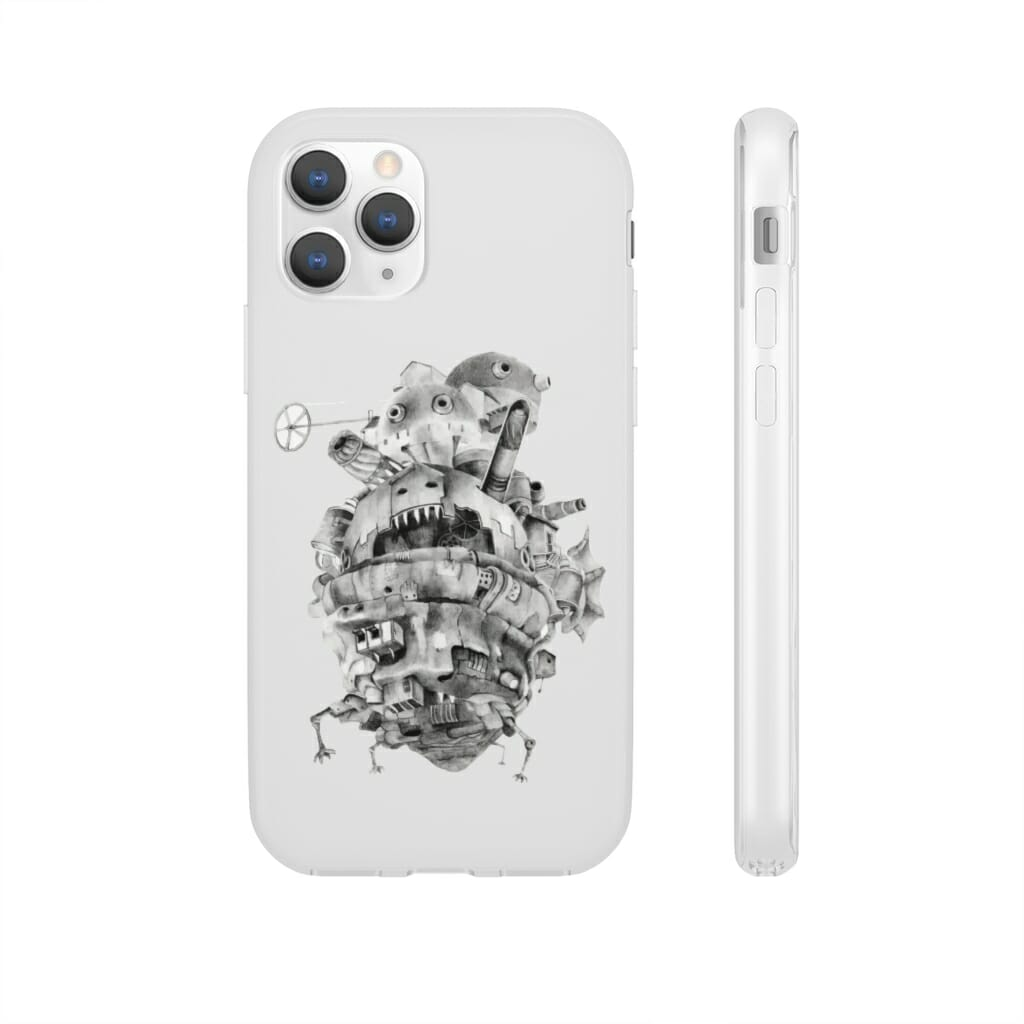 Howl's Moving Castle 3D iPhone Cases