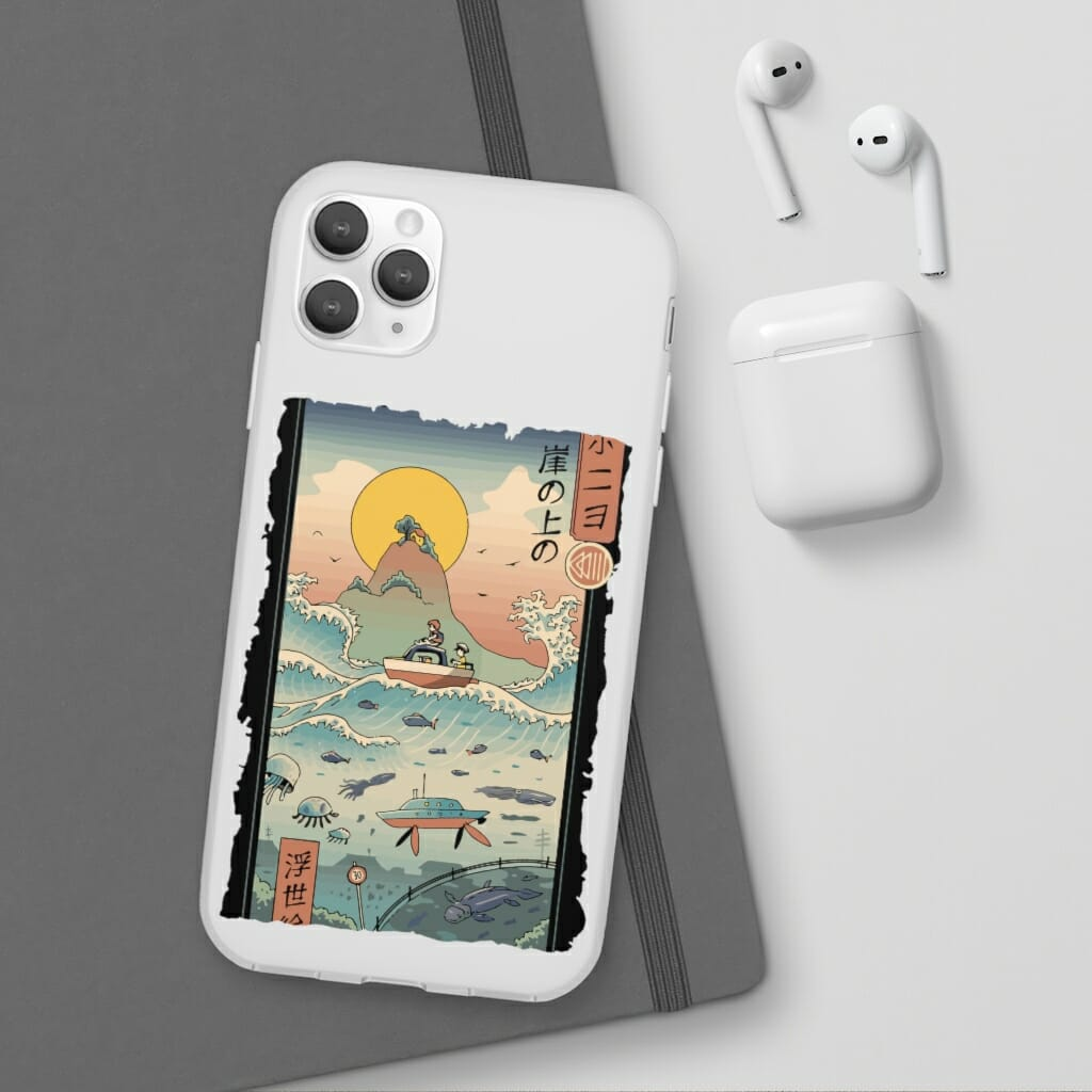 Ponyo By The Sea Classic iPhone Cases