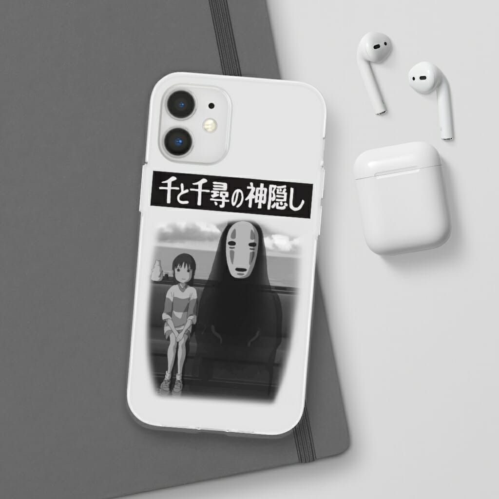 Spirited Away – Chihiro and No Face on the Train iPhone Cases