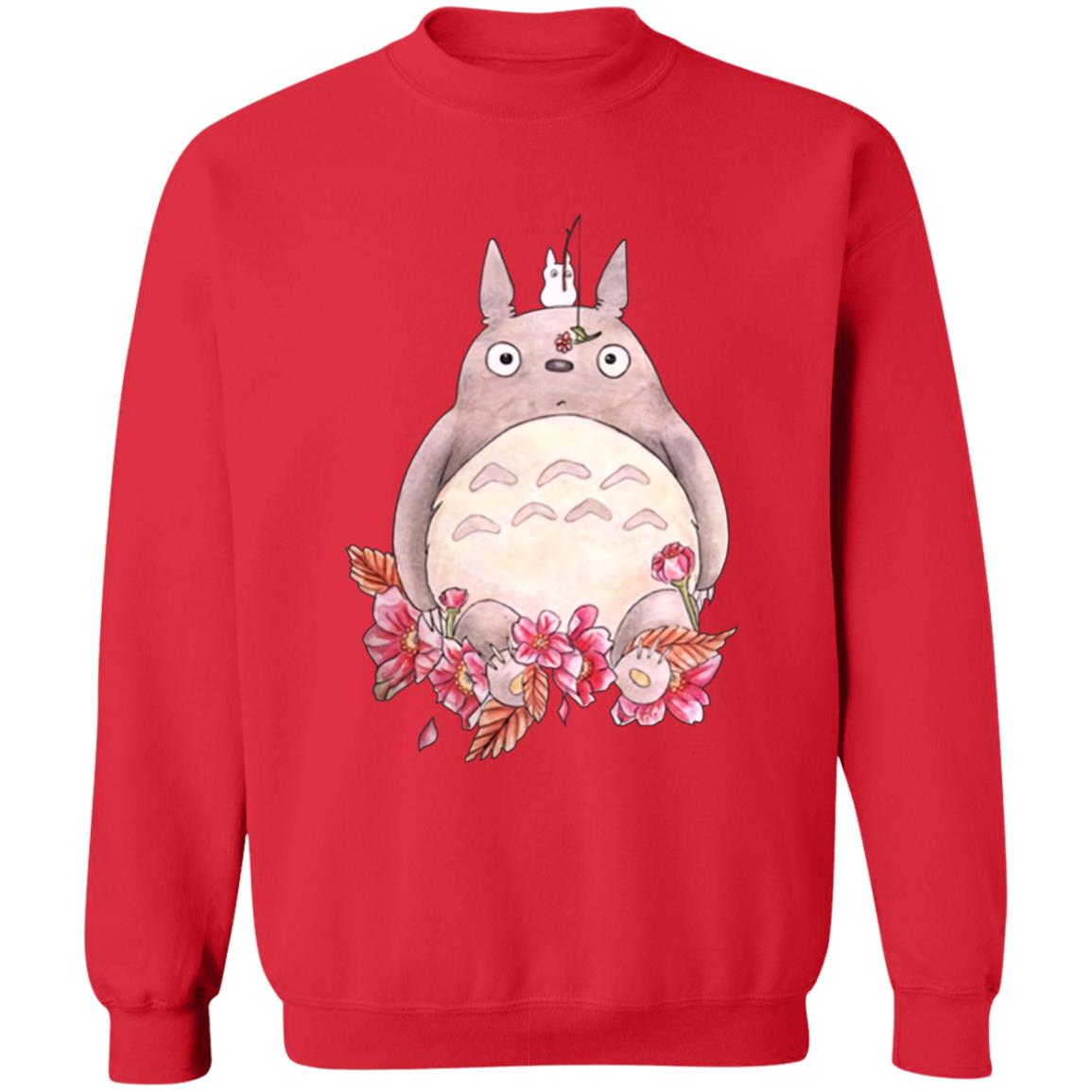 Totoro – Flower Fishing Sweatshirt