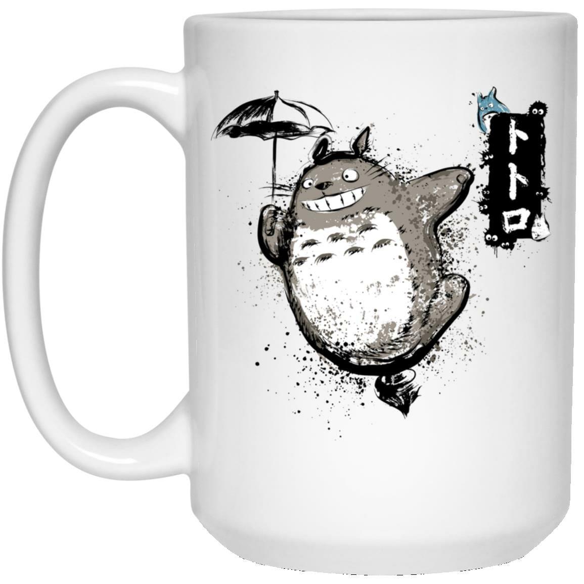Spinning Totoro Mug
