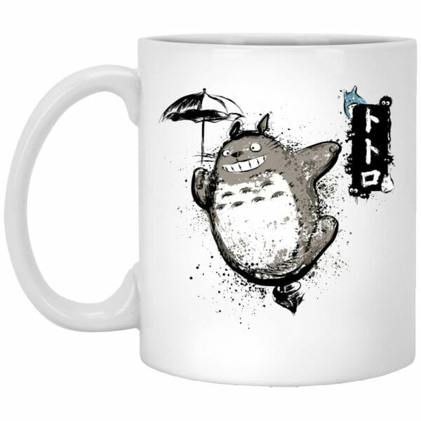 Totoro – Flower Fishing Mug