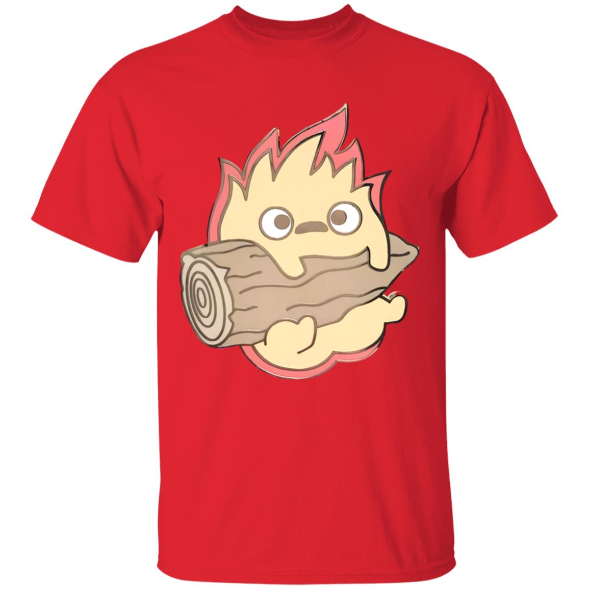 Howl's Moving Castle – Calcifer Chibi T Shirt