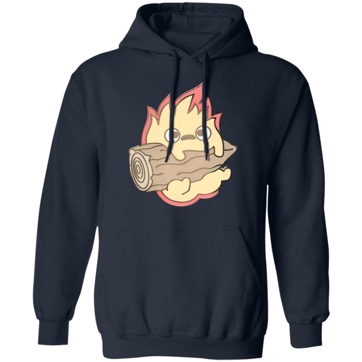 Howl's Moving Castle – Calcifer Chibi Hoodie