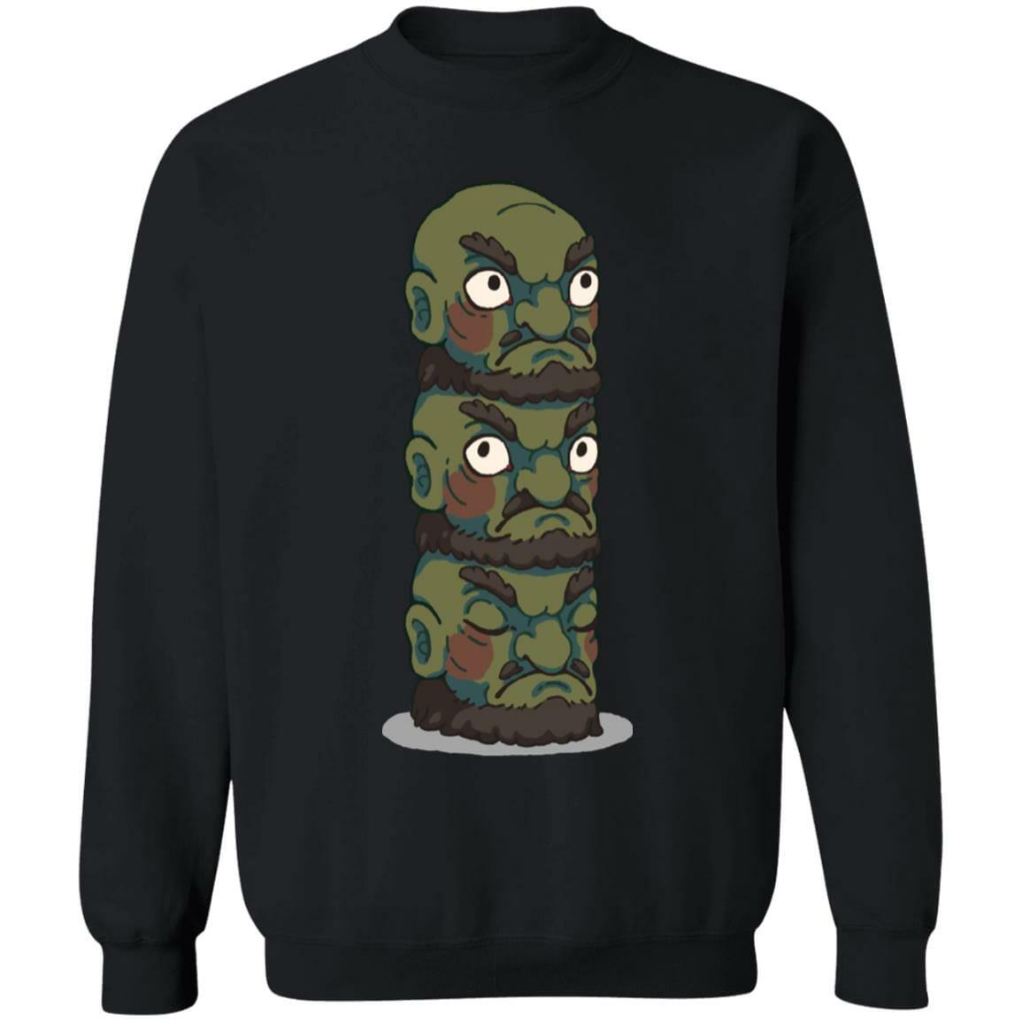 Spirited Away – Yubaba Kashira 3 Heads Sweatshirt