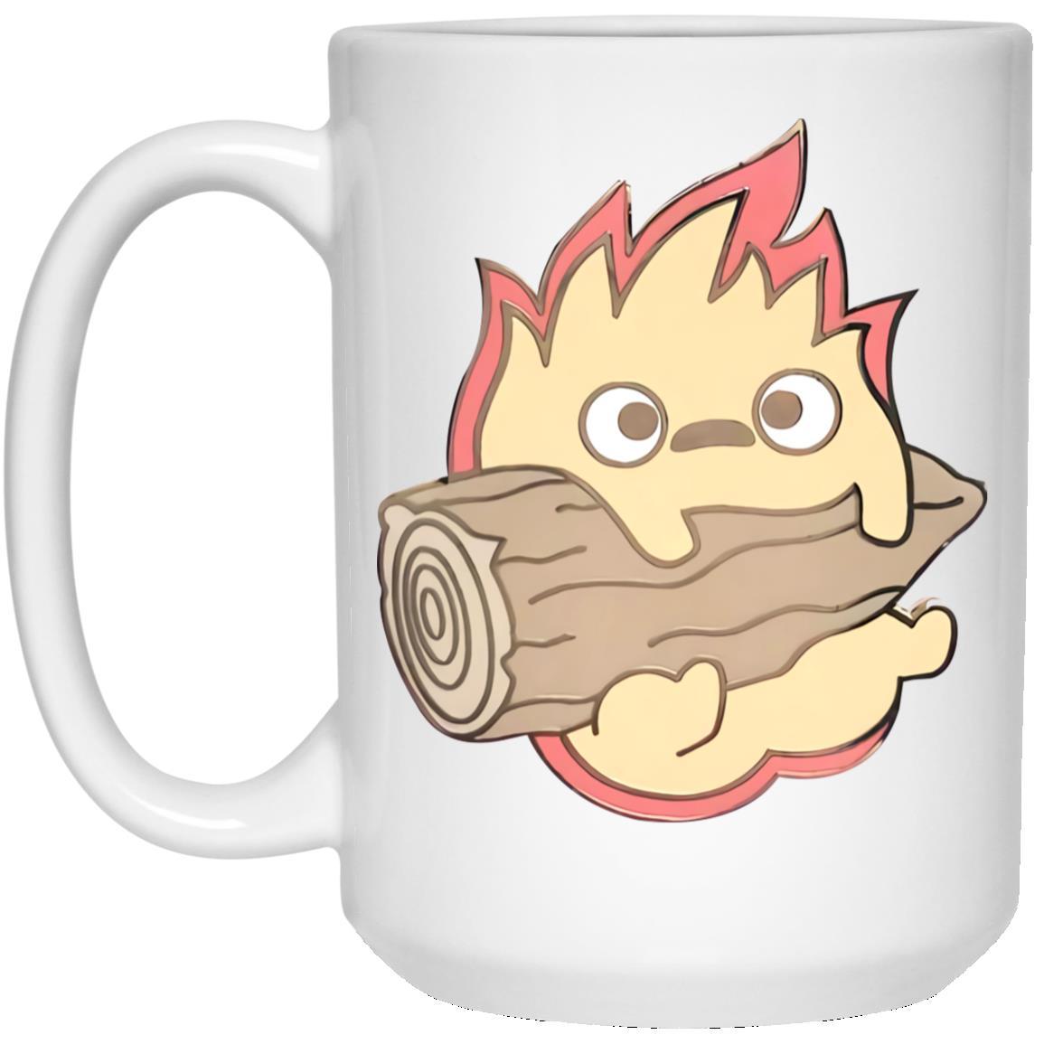 Howl's Moving Castle – Calcifer Chibi Mug