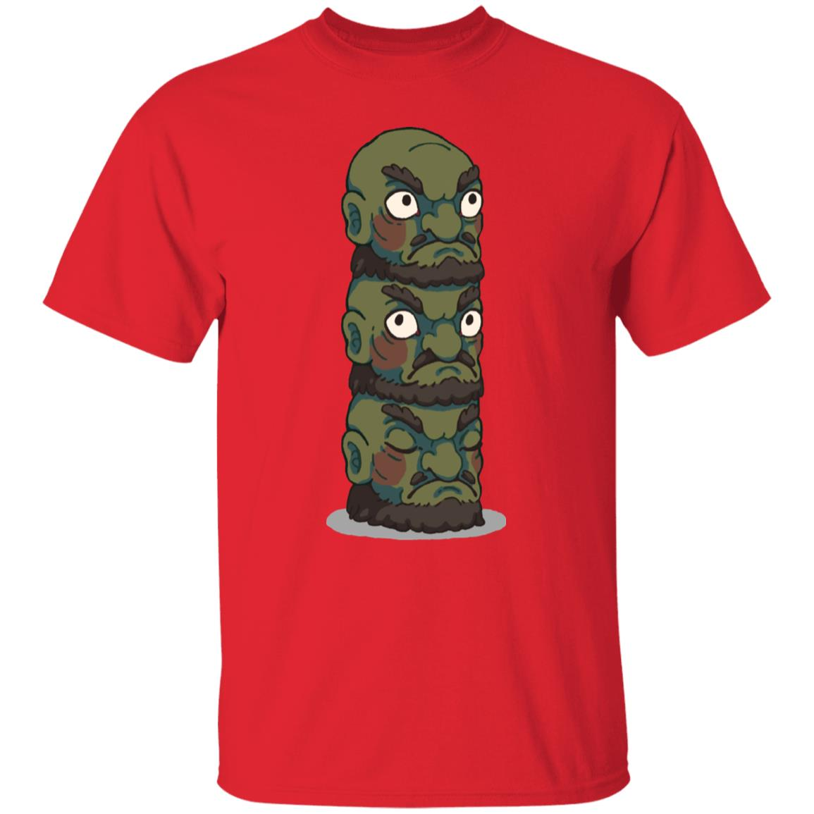 Spirited Away – Yubaba Kashira 3 Heads T Shirt