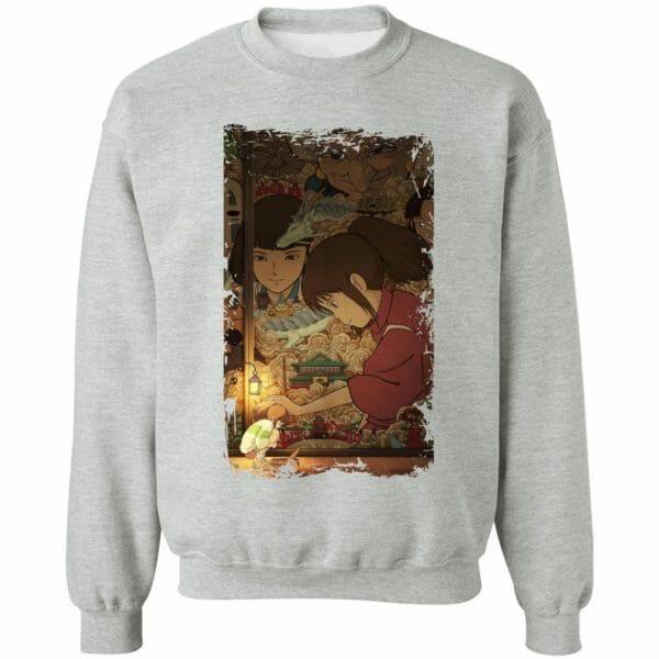 Spirited Away Movie China Poster Sweatshirt