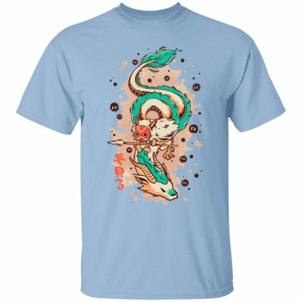 Princess Mononoke on the Dragon T Shirt