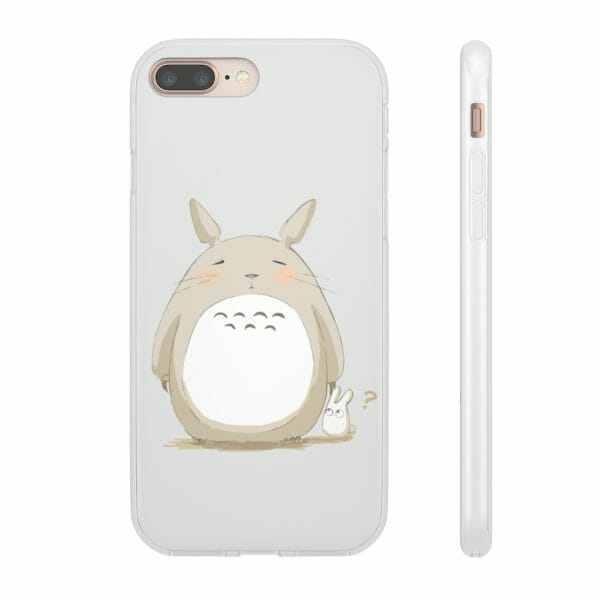 Cute Totoro Pinky Face iPhone Cases