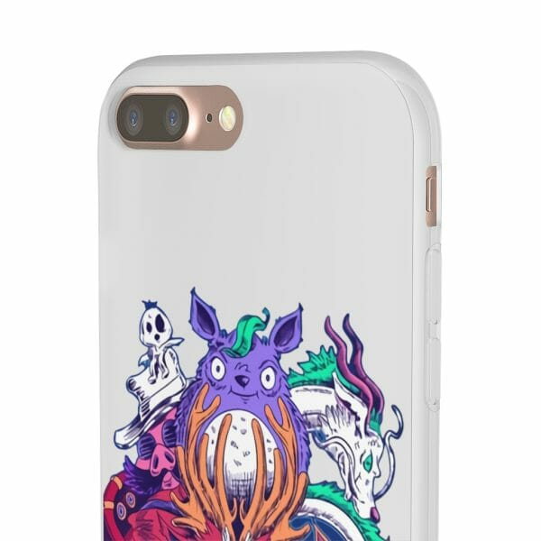 Ghibli Characters creepy style iPhone Cases
