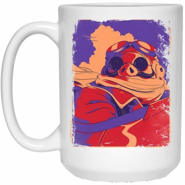 Porco Rosso Retro Mug