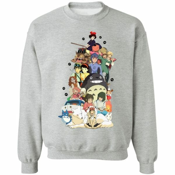 Ghibli Movie Characters Compilation Sweatshirt
