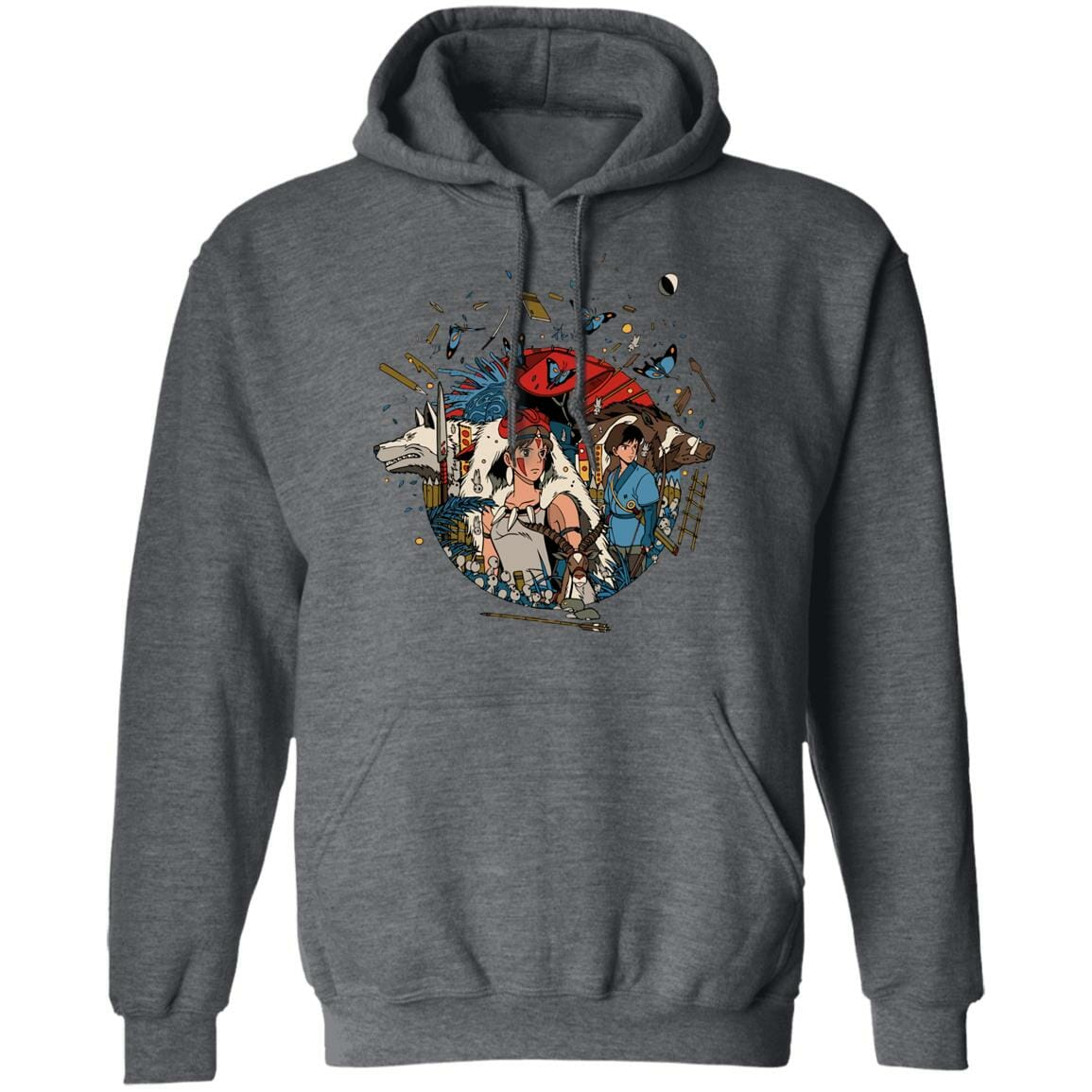Princess Mononoke Kokyo Hoodie Unisex