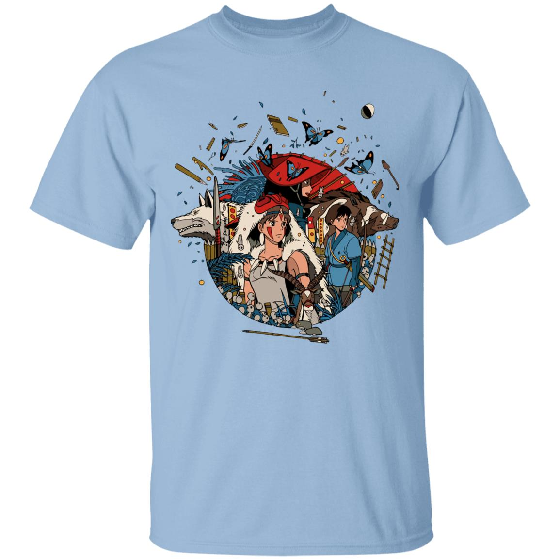 Princess Mononoke Kokyo T Shirt Unisex