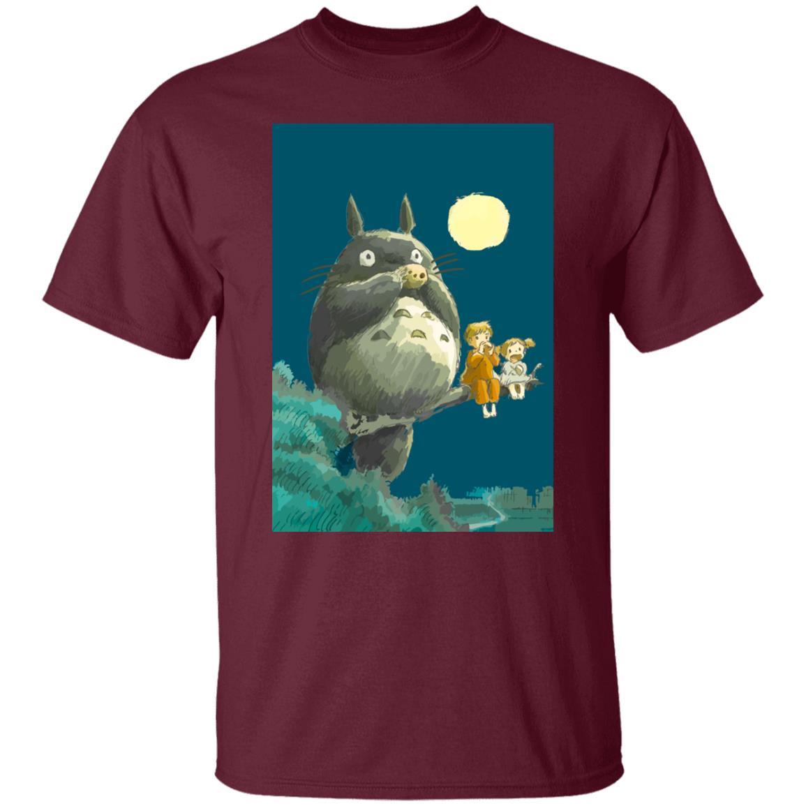 My Neighbor Totoro by the moon T shirt Unisex
