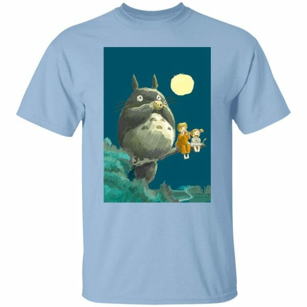 My Neighbor Totoro by the moon T shirt Unisex