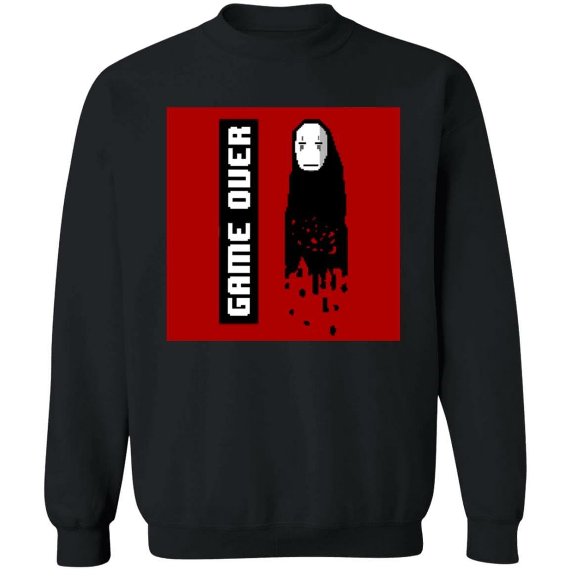 Spirited Away No Face 8 BIT Game Over Sweatshirt
