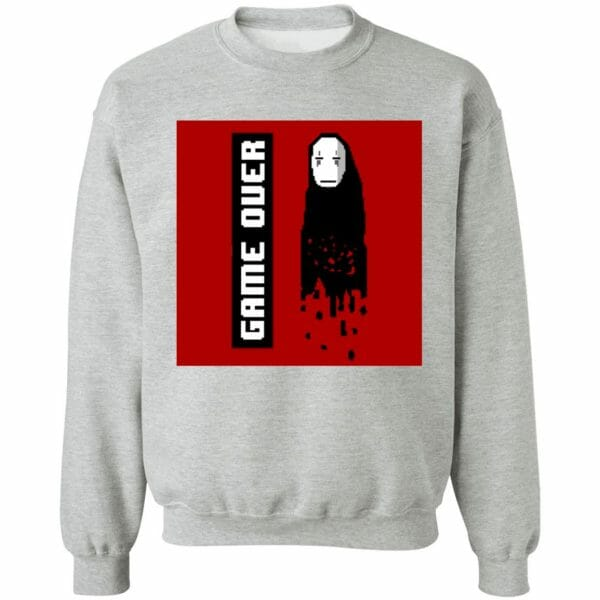 Spirited Away No Face 8 BIT Game Over Sweatshirt