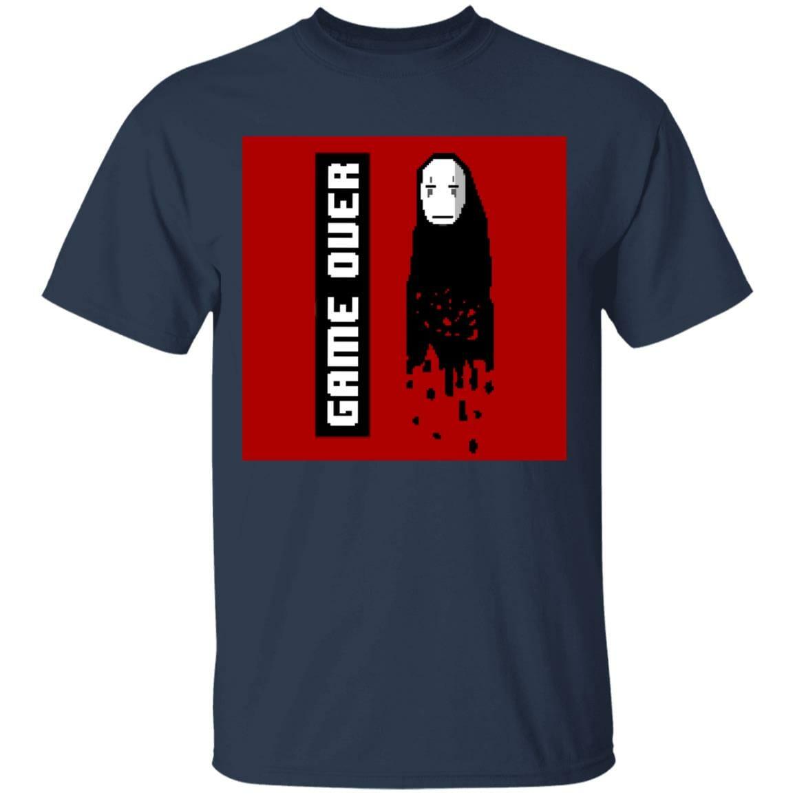 Spirited Away No Face 8 BIT Game Over T Shirt