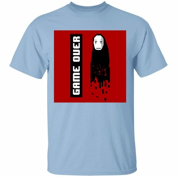 Spirited Away No Face 8 BIT Game Over T Shirt