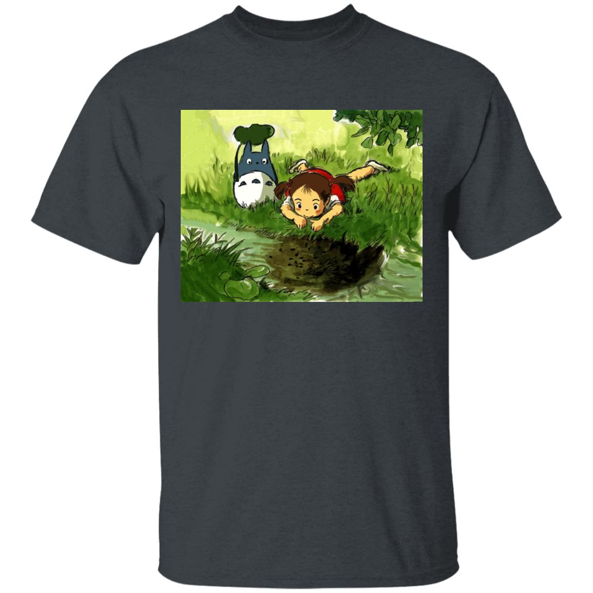 My Neighbor Totoro – Playing Mei T Shirt Unisex