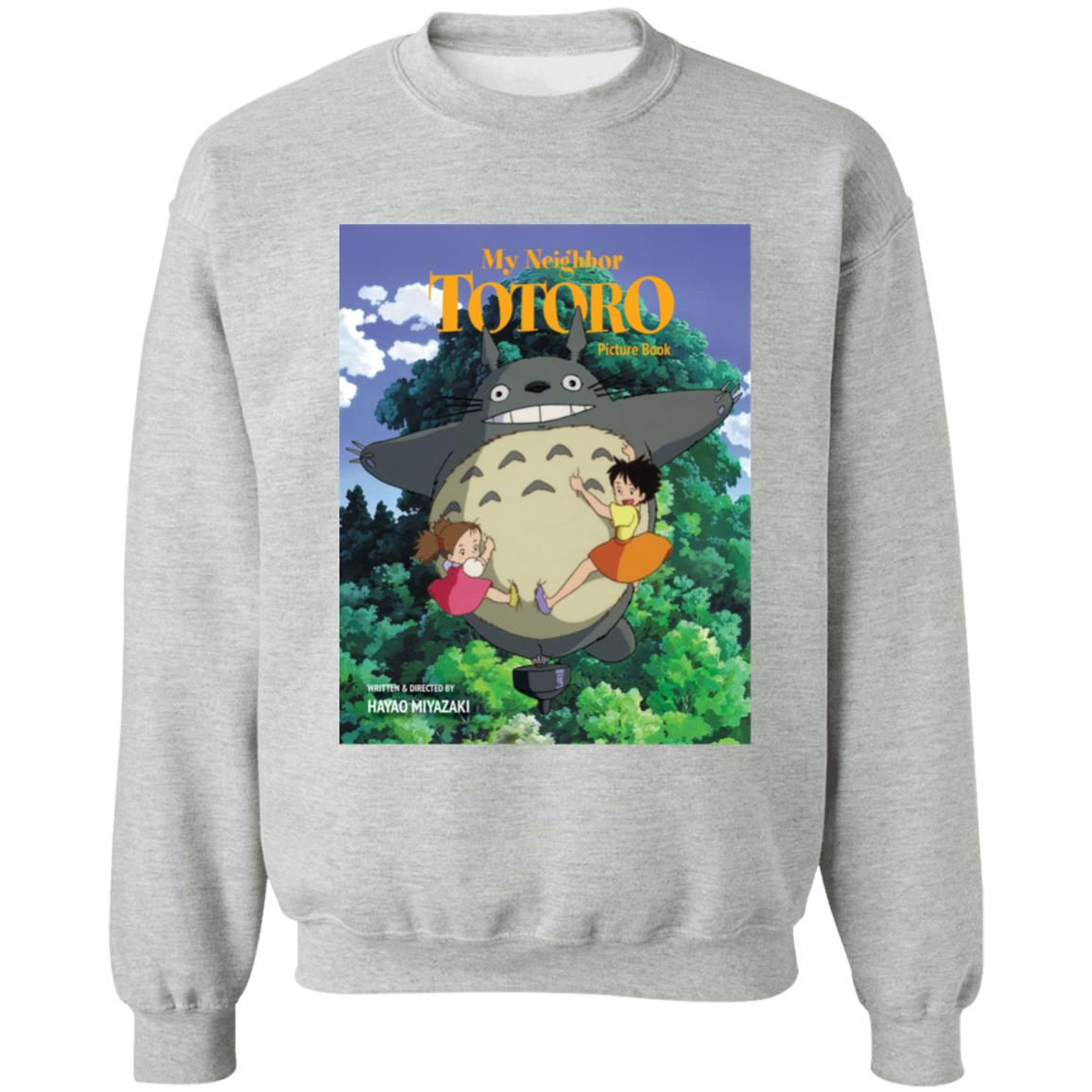 My Neighbor Totoro On The Tree Sweatshirt