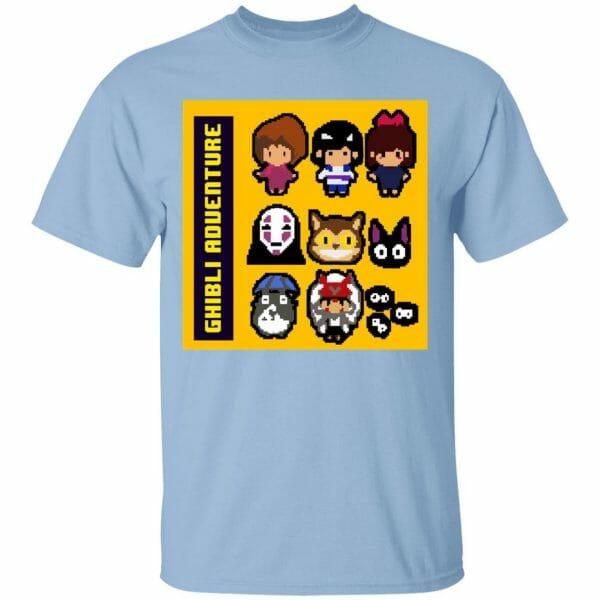 8 BIT Ghibli Adventures T Shirt Unisex