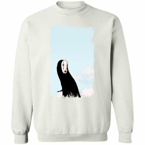 Spirited Away Kaonashi Noface Look Back Sweatshirt