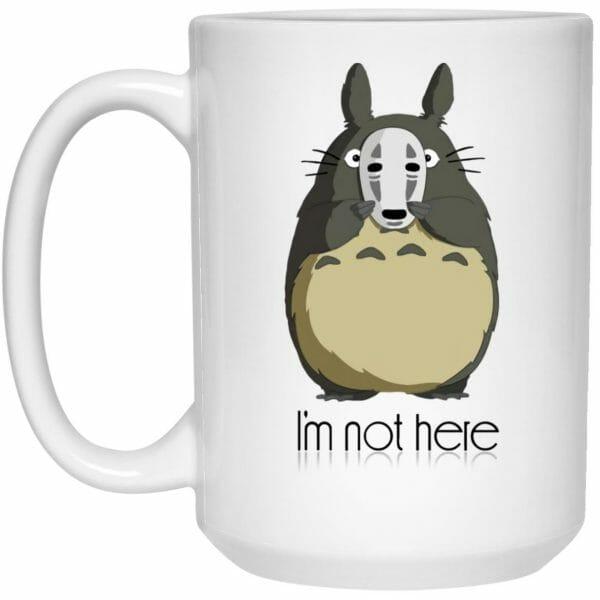 Totoro I'm Not Here Mug