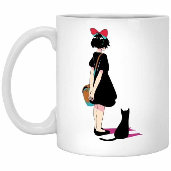 Kiki and Jiji Color Art Mug