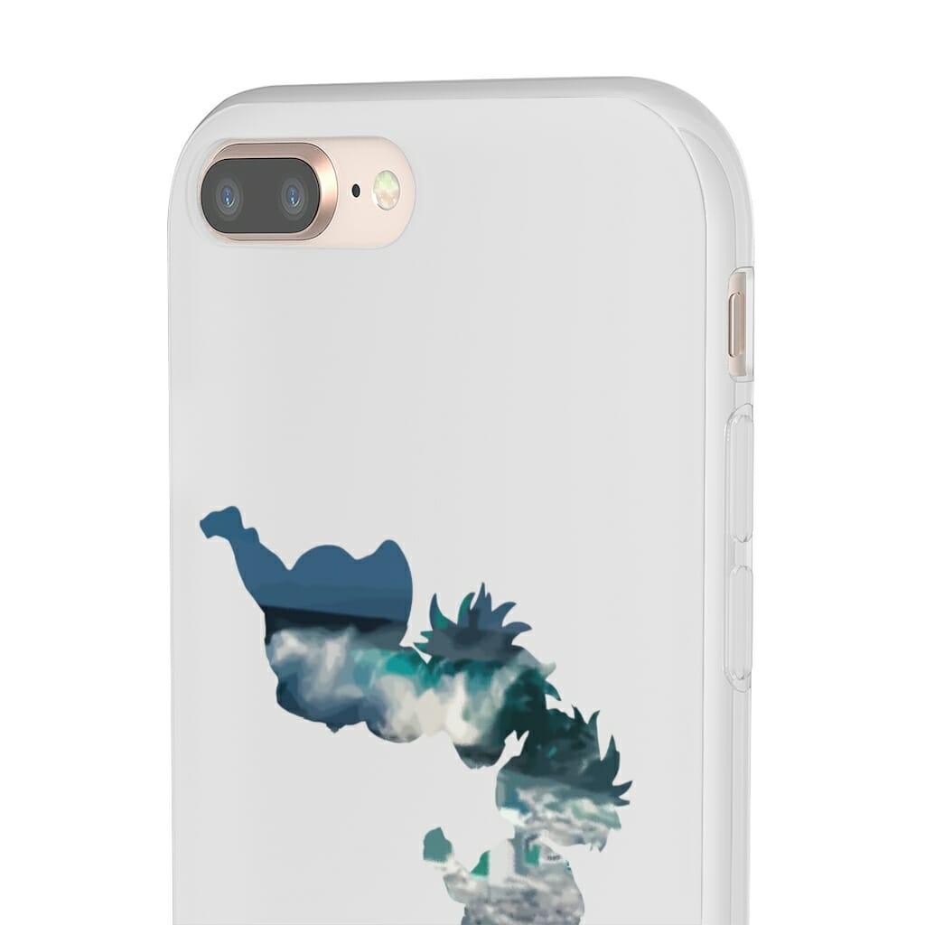 Ponyo and Sosuke Cutout Classic iPhone Cases