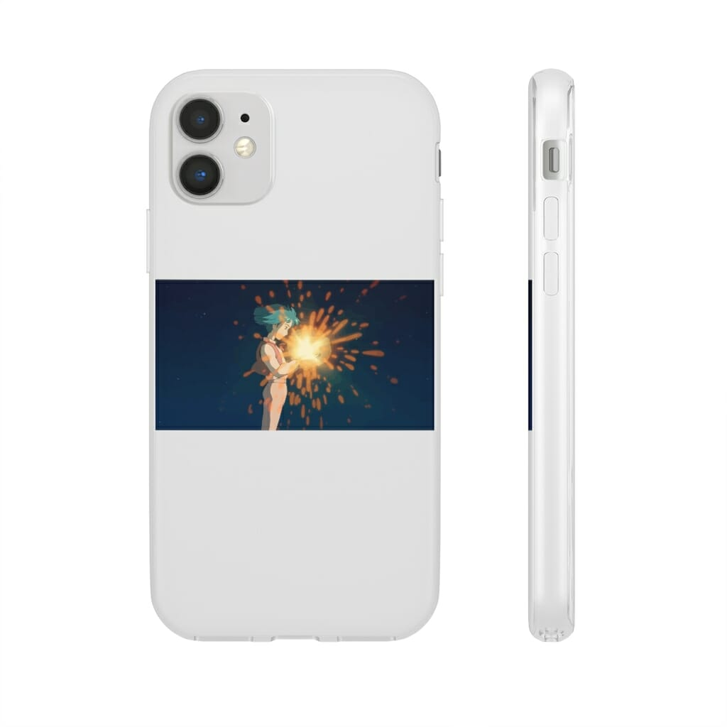 Howl's Moving Castle – Howl meets Calcifer iPhone Cases
