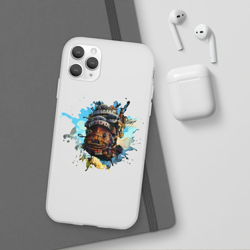 Howl's Moving Castle Painting iPhone Cases