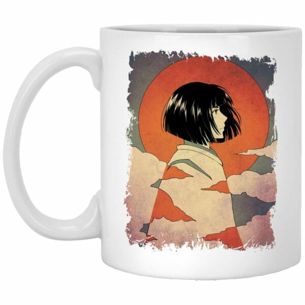 Haku Japanese Classic Art Mug