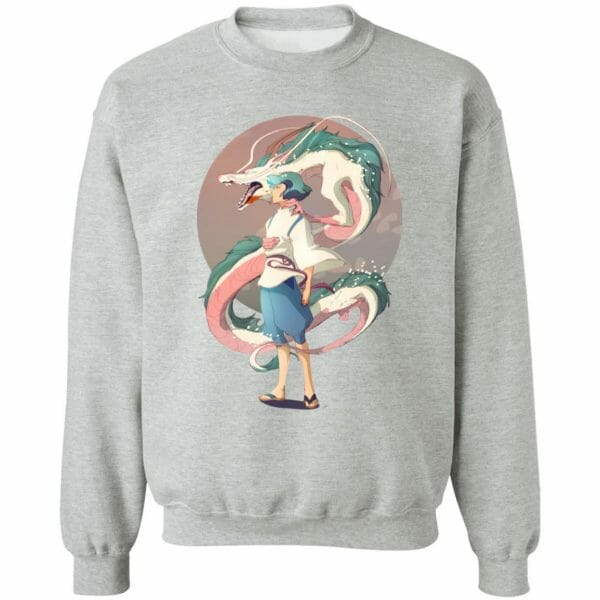 Haku and The Dragon Sweatshirt
