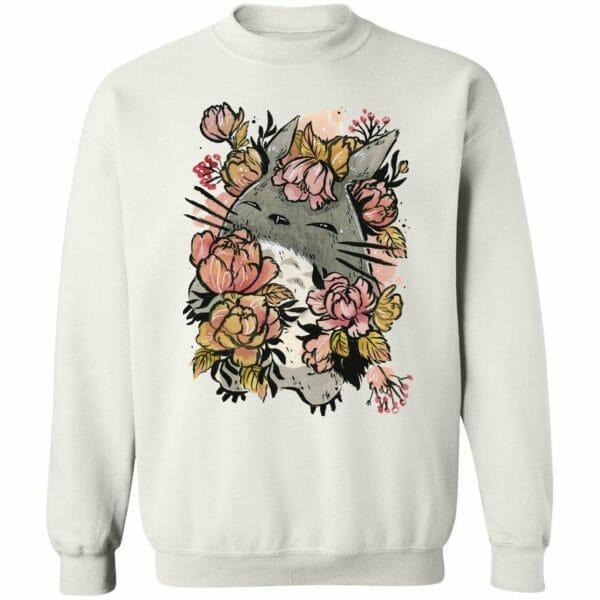 Totoro by the Flowers Sweatshirt