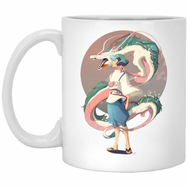 Haku and The Dragon Mug