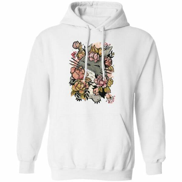 Totoro by the Flowers Hoodie