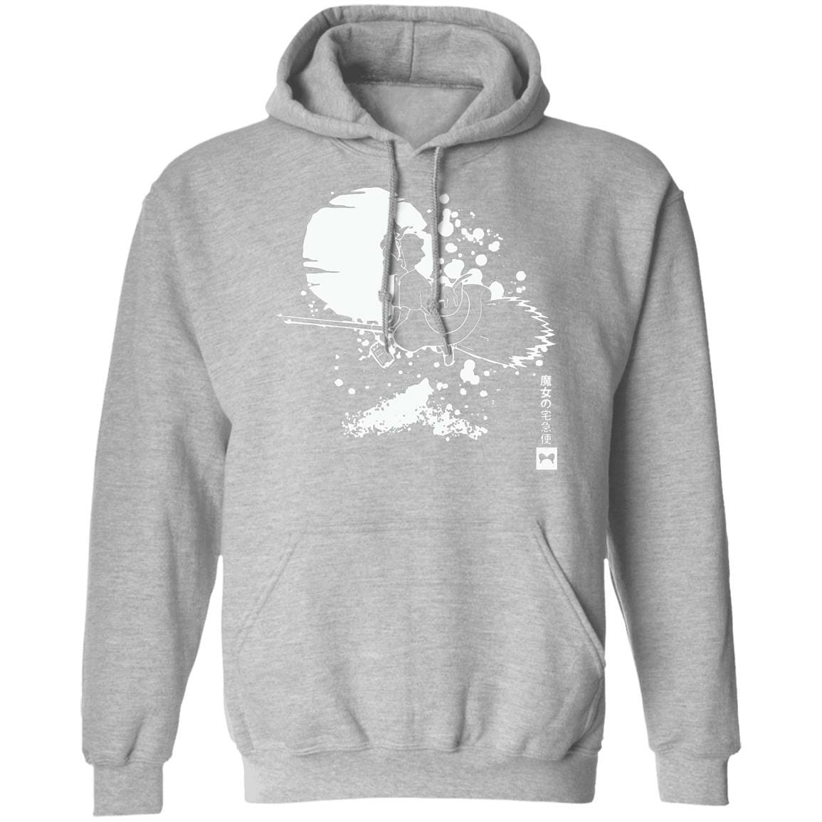 Kiki's Delivery Service – Flying in the night Hoodie Unisex