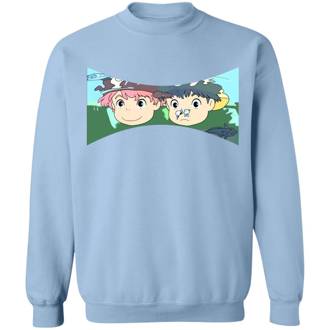 Ponyo and Sosuke Sweatshirt Unisex