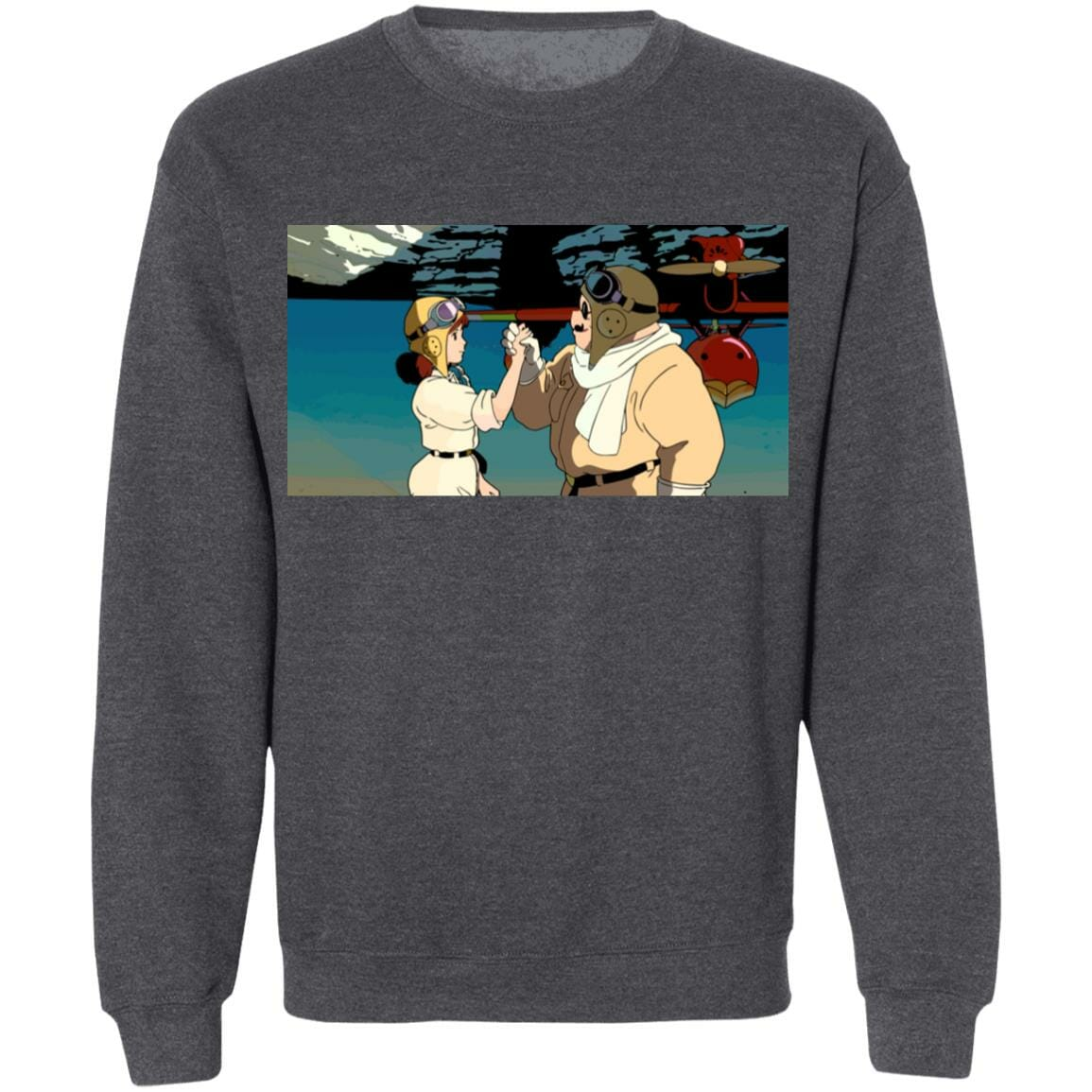 Porco Rosso Vintage Sweatshirt Unisex